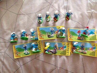 Smurfs Characters - All Brand New