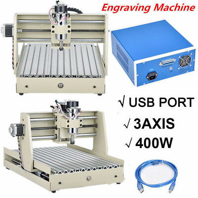 New USB 3040 ROUTER ENGRAVER ENGRAVING CUTTER 3AXIS 3040 T-SCREW DESKTOP CUTTING