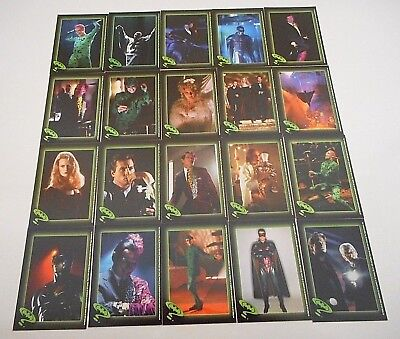 *20 x BATMAN FOREVER TRADING CARDS/STICKERS - TOPPS 1995-FREE POST*
