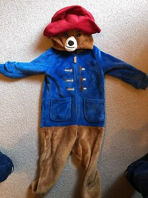 Paddington All In One / Jumpsuit / Dressing Up 3-4 Years