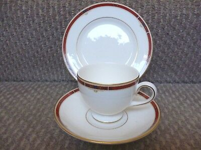 Wedgwood Colorado Tea Trio With Leigh Shaped Cup
