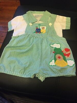 Vintage Baby Clothes Size 000 Suit Dressed Doll