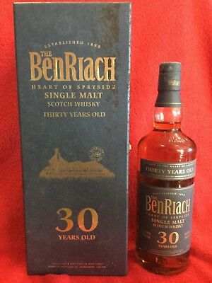 Whisky benriach 30 years 50%vol