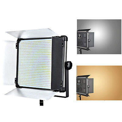 Dison D2000II 140WLED Bicolor Photography Studio Video Light Panel Lamp V-mount