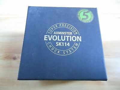 NEW Axminster Evolution SK114 Woodturning Chuck M33 x 3.5mm