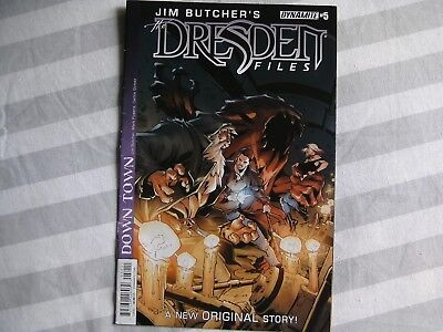 DYNAMITE Dresden Files graphic comic iss #5 /6 Jun 2015 NEW Powers Butcher Gomez