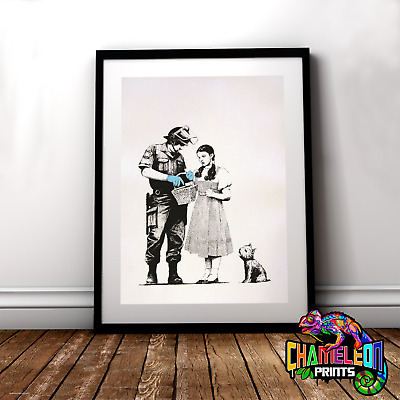 Banksy Wizard Of Oz Stop And Search Print A3 A4