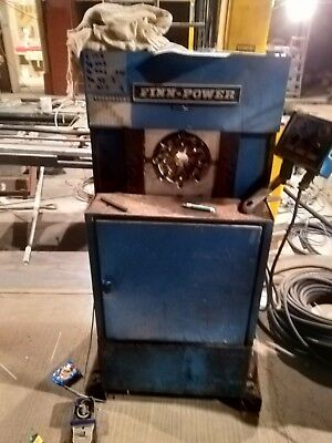 HYDRAULIC HOSE CRIMPER Swager Crimping Swaging Machine Finnpower Fp110 With  Dies
