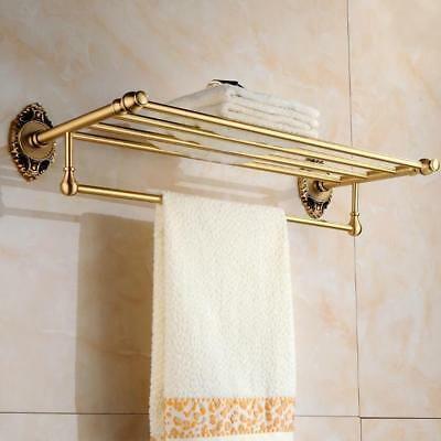 Antique Brass Bathroom Accessories Set,Robe hook,Paper Holder,Towel Bar,Soap dis