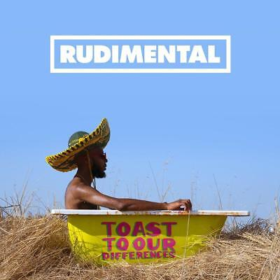 Rudimental  - Toast to our Differences - Deluxe CD Album - Released 25/01/2019