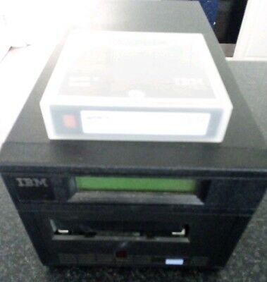 IBM 3580 L13 External Tape Drive. Please note that the tape is not included