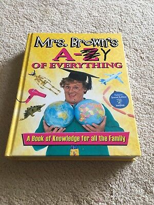 Mrs. Brown's A to Y of Everything by Brendan O'Carroll (Hardback, 2014)