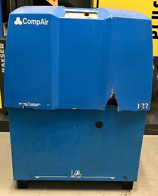 Compair L22 Rotary Screw Compressor! 122Cfm! 22.0Kw! 7.5 Bar! Low Hours!