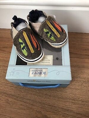Robeez 0-6months Baby Boy Shoes