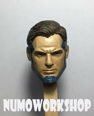 "Injustice 2 Superman 1/6 Scale CUSTOM UNPAINT HEAD for 12"" Body Figure by NUMO"