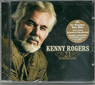 21 Number Ones by Kenny Rogers (CD, Jan-2006, Capitol/EMI Records) NEW