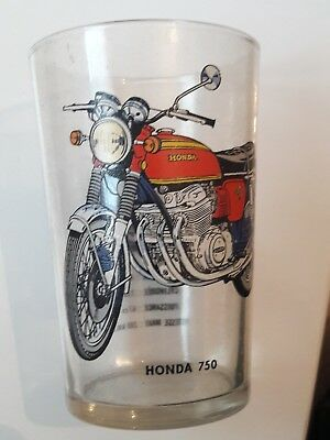 Verre à moutarde MOTO – HONDA 750 four collection publicitaire vintage