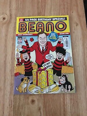 Beano Comic 80th Birthday Issue With David Walliams 25th July 2018