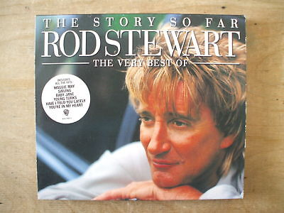 ROD STEWART - THE STORY SO FAR: THE VERY BEST OF - 2xCD 34 TRACKS