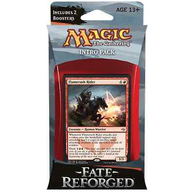 MTG FATE REFORGED * Fate Reforged Intro Pack - Stampeding Hordes (Mardu)