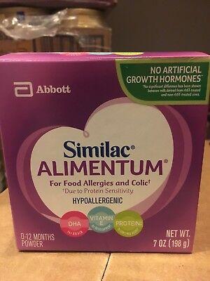 Brand New Unopened 6 Pack Similac Alimentum Milk Powder - 7oz cans (6 cans)