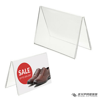 1Pc Menu Card Showcard Name Place Table Setting Sign Display Stand Holders SW