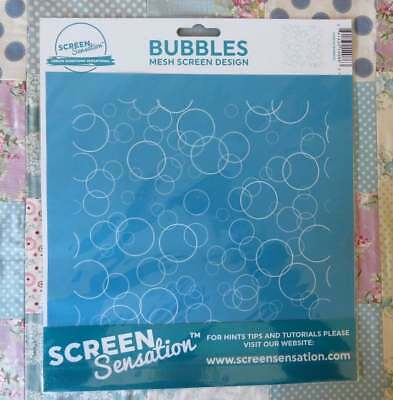 Screen Sensation Mesh Screen Design - BUBBLES