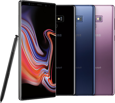 New-Samsung Galaxy Note9 SM-N960U -128GB - AT&T/T-mobile UNLOCKED Smartphone