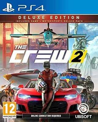 The Crew 2 Deluxe Edition PS4 (SP)