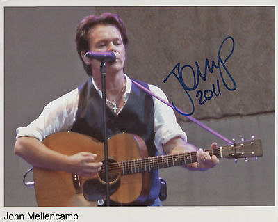 John Mellencamp Signed Photo Genuine In Person + COA