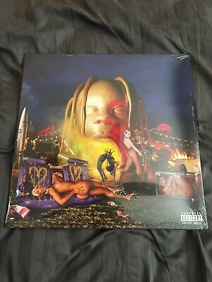 Travis Scott Astroworld Vinyl Record LP Night Time Cover Variant