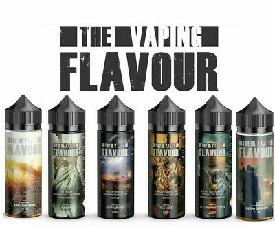 The Walking Flavour Chapter 1 - 6 Aroma 10 ml in 120ml Flasche Vaping Flavour