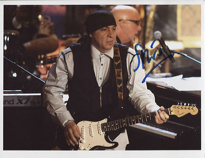 Little Steven Van Zandt Signed Photo Genuine In Person Sopranos Springsteen COA