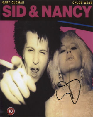 Gary Oldman (Actor) Sid & Nancy Signed Photo 100% Genuine in Person + COA