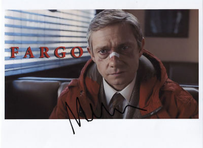 Martin Freeman (Actor) Fargo Signed Photo 100% Genuine In Person + COA