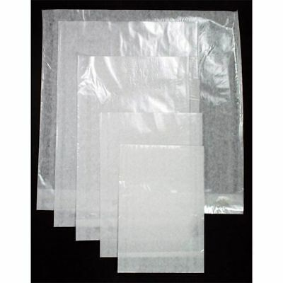 "7"" X 7"" Clear Face Film Fronted, White Paper Backed Bags. - Ass. Packs See List"