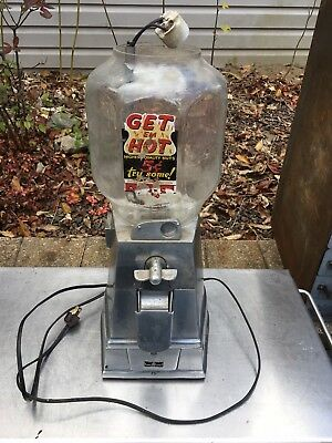 asco vending machine exchange Vtg Peanut Candy 5 Cent Store Display 1 Cent Penny