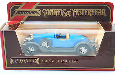 Nutz- & Transportfahrzeuge Stutz Bearcat 1931 Matchbox Made In England By Lesney Nr 11 Modellbau