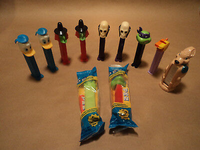 Misc. PEZ Dispenser Lot - Eleven total Semi Vintage dispensers
