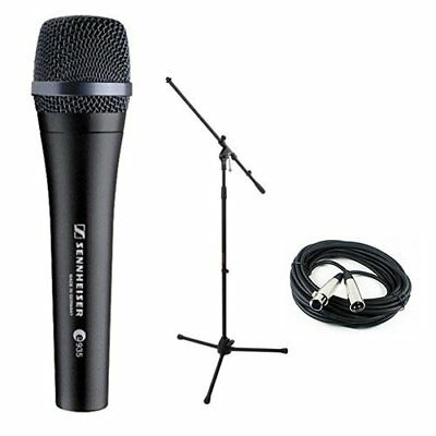Sennheiser E935 Dynamic Handheld Vocal Mic with Stand & Cable Performance Kit