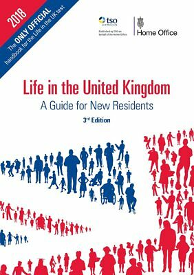 Life In The UK TEST OFFICIAL Handbook 3Rd Edition Citizenship Book 2018/2019