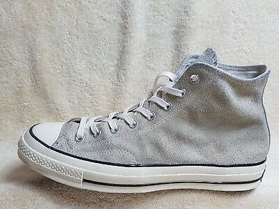Converse All Star Chuck Taylor mens High trainers Leather Grey/White UK 11 EU 45
