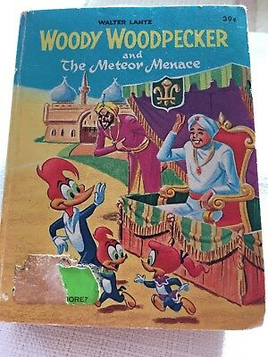 Walter Lantz Woody Woodpecker and The Meteor Menace a big little book