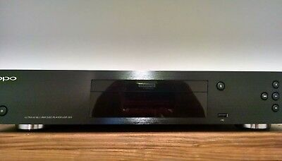 Oppo UDP-203 Blu-ray Player Excellent condition