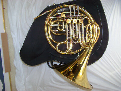 REYNOLDS Contempora POTTAG MODEL  F/Bb DOUBLE FRENCH HORN -- VERY NICE $799