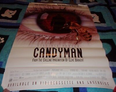 Original Candyman Movie Poster Signed By 6 Clive Barker 11500