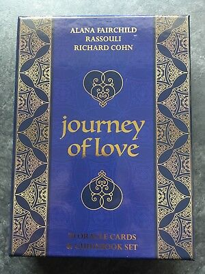 NEW Journey of Love Oracle Reading Cards Guidebook Set Alana Fairchild Tarot