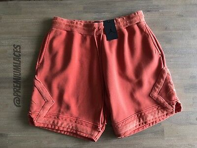40a0d767bf8 Nike Air Jordan Sportswear Diamond Washed Fleece Shorts $75 | 929960 8709  Xl 3Xl