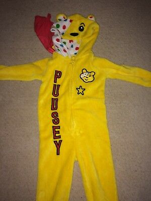 Pudsey Bear Playsuit 18-24 Months
