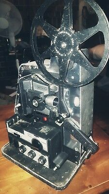 Vintage Bell And Howell Lumina II 8mm Film Projector. Needs power chord.